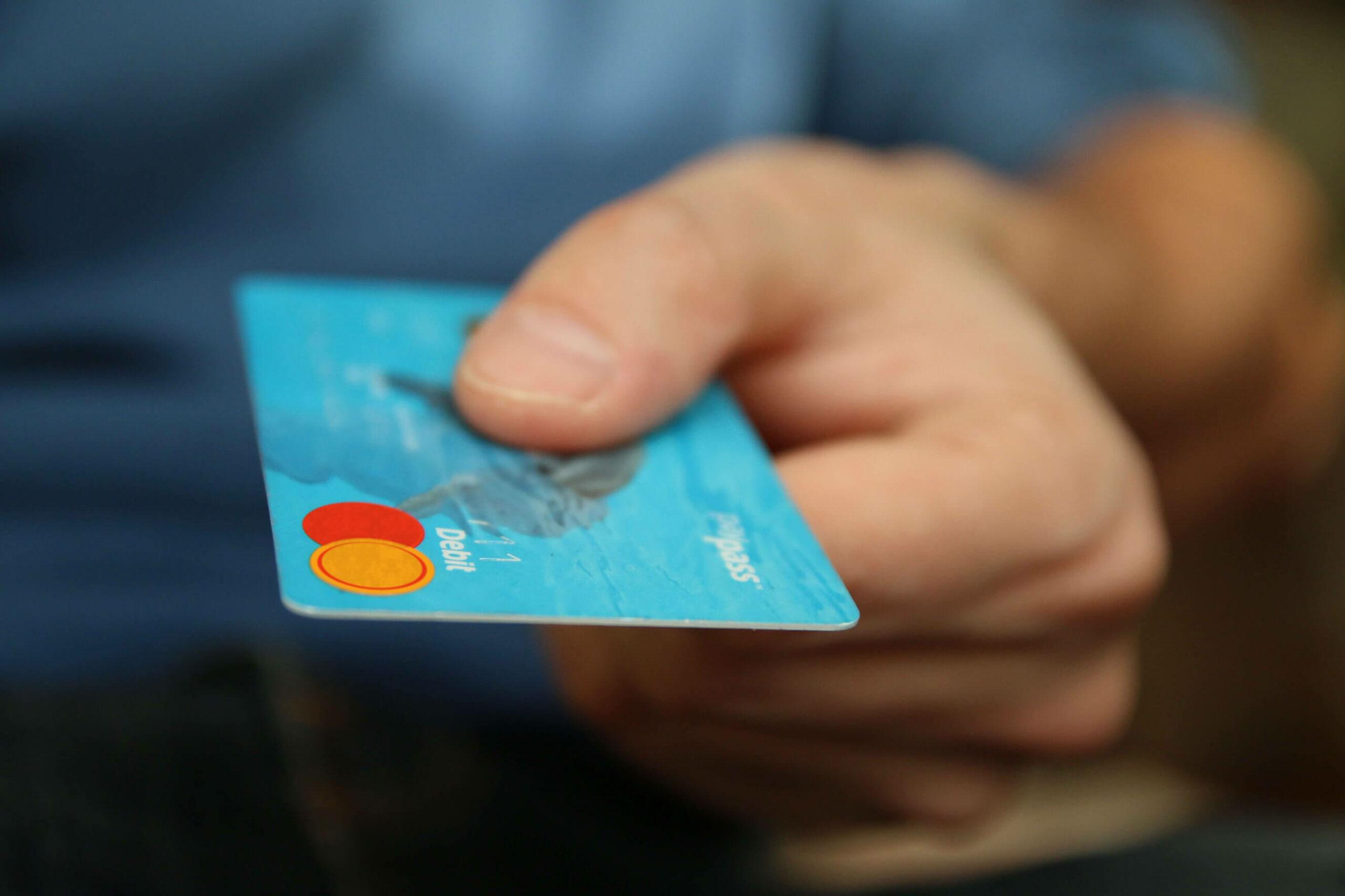 Bank Banking Blue 50987