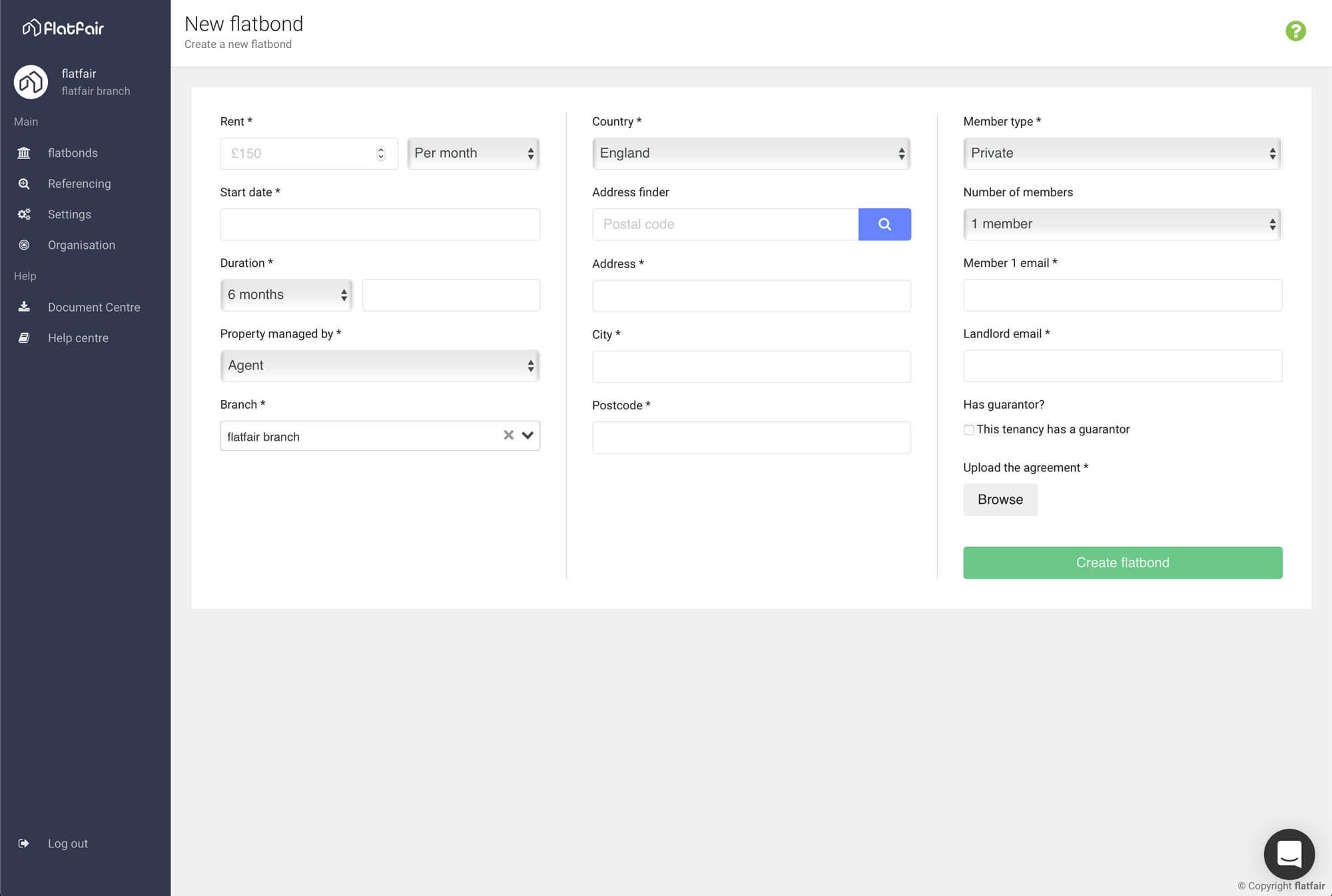 flatfair New flatbond screenshot