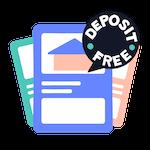 Cartoon Deposit Free House Listing