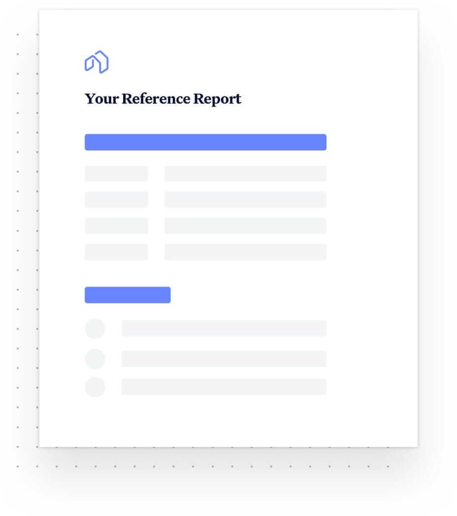 Reference Report