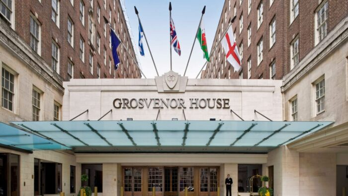 Marriott Grosvenor House Hotel. Image Shot 2008. Exact Date Unknown.