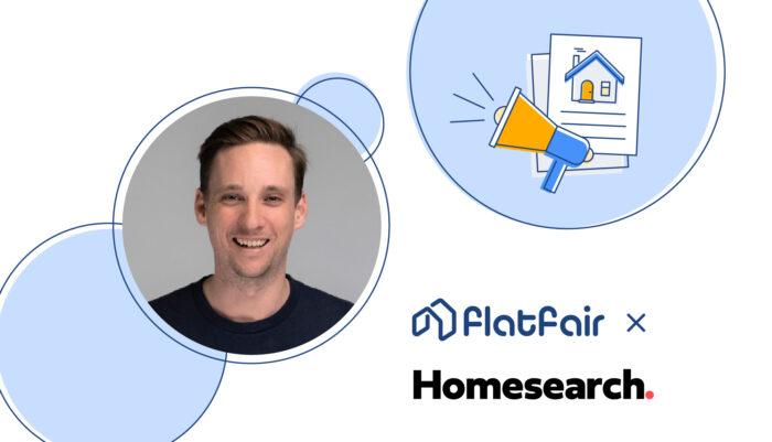 Sam Hunter from Homesearch joins flatfair blog