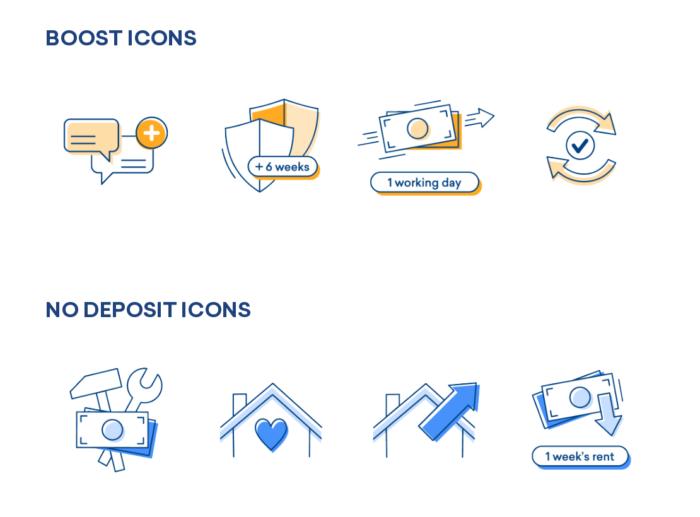 flatfair's benefit Icons