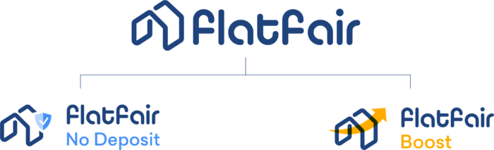 Flatfair Branded House with No Deposit and Boost
