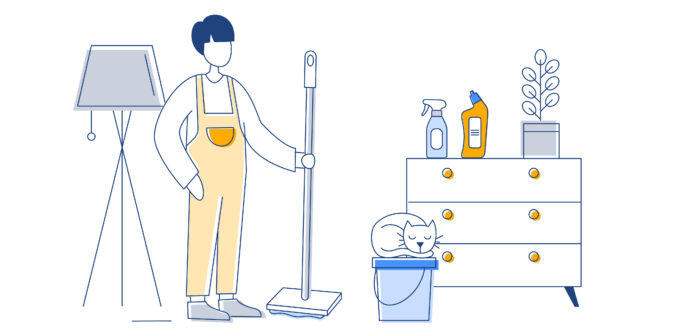 Cleaning Post 01